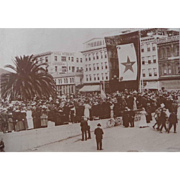 Long Beach Ca. 1918 World War 1 Bond Rally Photograph