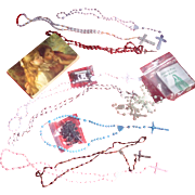 Catholic Nun's Rosary & Holy Land Treasures