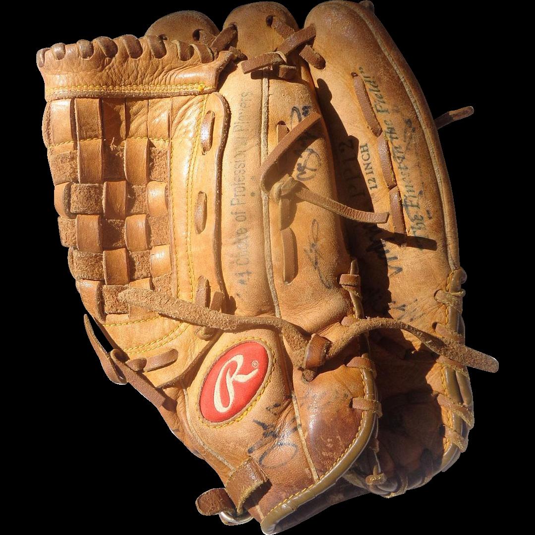 Alex Rodriguez Autographed New York Yankees Rawlings Model Glove
