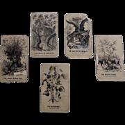 Civil War Propaganda Playing Cards by Homer Winslow
