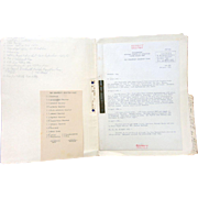 World War 2 Top Secret Documents of the U.S. Signal Corps stationed in Europe. FIRST COMPUTER COLORED TROOPS