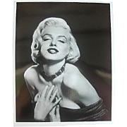 Stunning original period Studio Photo of Marilyn Monroe