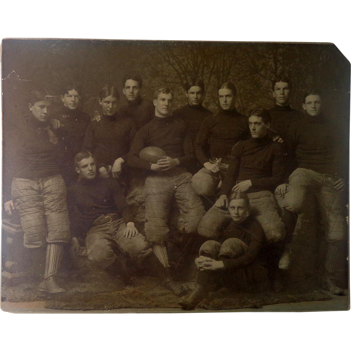 1901 Auburn Tigers  Football Team Large Photograph