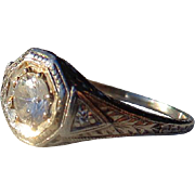 18kt. Gold Art Nouveau Ladies or Childs Ring