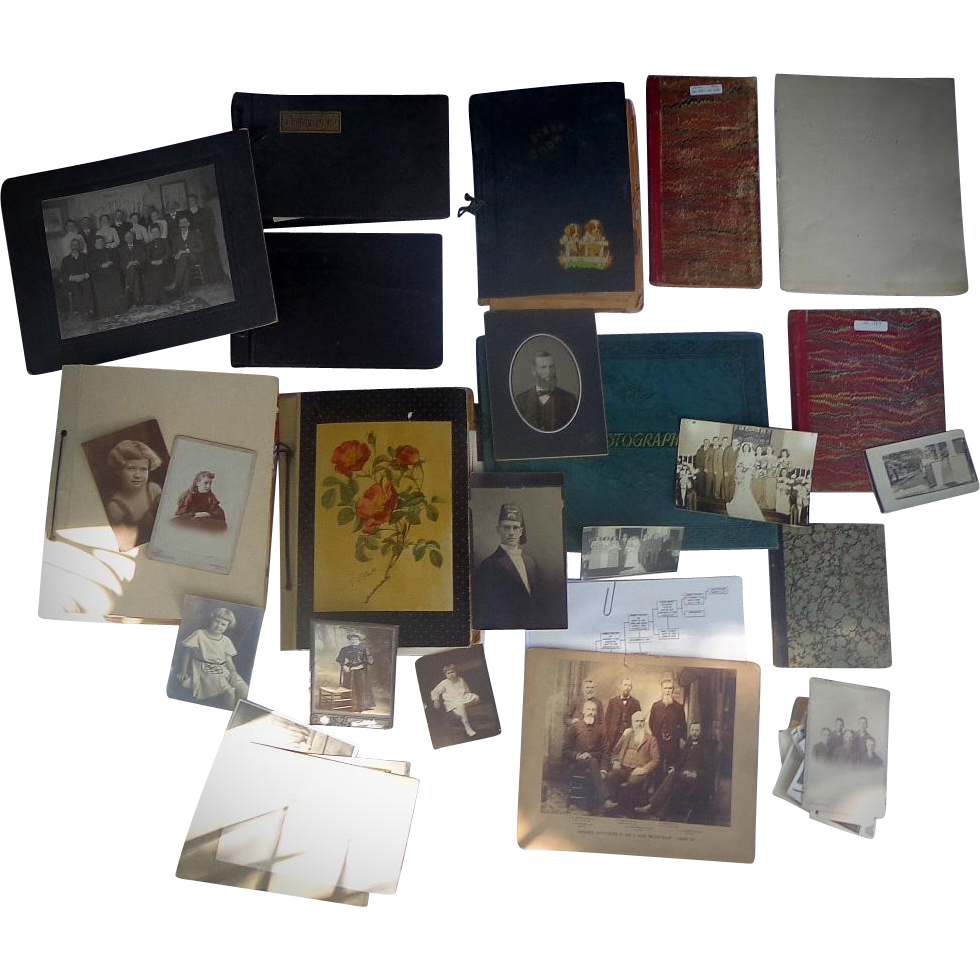 19th century Greenville,Michigan Archive  Journals,Ephemera and hundreds of Photos of Taylor Family