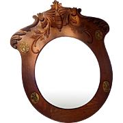 Victorian Military Parlor Mirror...Mirror,Mirror on the Wall