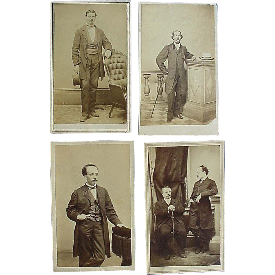 Civil War CDV Photographs of Santo Domingo Slavery Commission to Abraham Lincoln