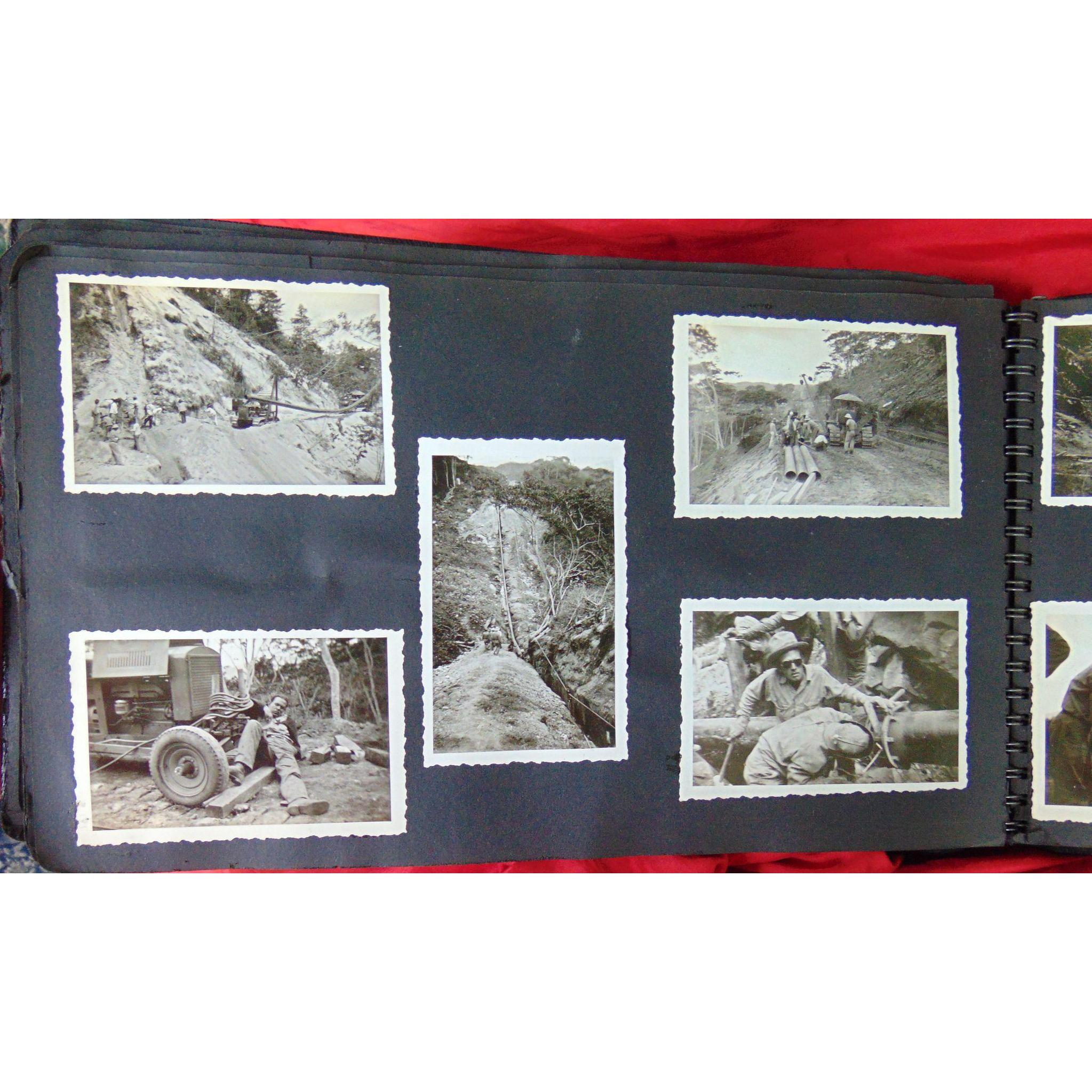 Photo Album Venezuela Oil Pipeline c.1930's