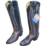 Incredible Tony Lama  Ladies Boots Custom Made Size 5