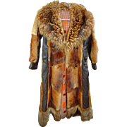 André Courrèges 1960's custom made fur coat SIMPLY INCREDIBLY GROOVY !