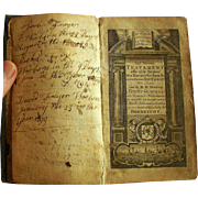 1771 American Family Bible with Fryer Family Genealogical Records and Borrowed Cow !