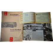 Legandary Original Mercedes 300 Gull-wing Brochure