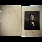 Autograph of Confederate General Benjamin J. Hill