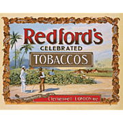 Early Redford Tobacco Celebrated Advertising Poster