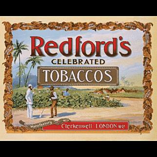 Redford Tobacco Celebrated