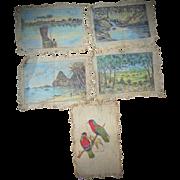 Early Primitive Paintings Tūākau New Zealand, Fiji and Samoa