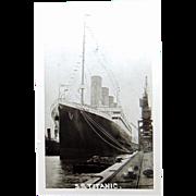 S.S.Titanic RPPC Postcard