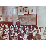 One Room Schoolhouse Robert E.Lee 1895 Photograph