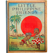 Rare 1901 edition of Our little Philippine kiddies Kids of many colors by Grace Duffie Boylan