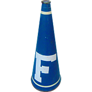 1940's University of Florida  Gators Football Megaphone