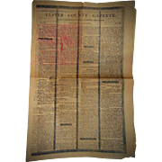 Newspaper Ulster County N.Y. Death of General George Washington Jan.4 1800