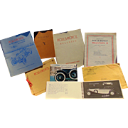 Collection of Rolls-Royce Owners Manuals  Pamphlets & Literature