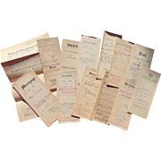 Collection of Deeds,Mortgages & Indentures Pennsylvania & New Jersey
