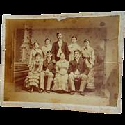 Allan Pinkerton Detective Agency Family photograph