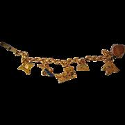 St. Augustine,Florida Charm Bracelet c.1960's Oldest Store Museum