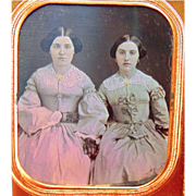 Daguerreotype of Southern Belles from Tallahassee,Florida