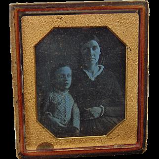 Very Early Daguerreotype S. Southworth Walton,New York