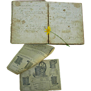 1902 Recipe Diary Journal of Mrs. Pillsbury