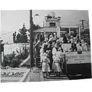 Pacific Electric Railway Echo Mountain Silent Film Screen Stars...What a GREAT Photograph !