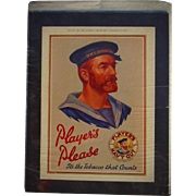 1930 Players Navy Cut Tobacco Advertisement