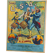 Spirit of the U.S.A. March 1776 Sheet Music