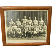 1940's University of Michigan Baseball Photograph