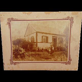 Cabinet Photo of First German Parish Washtenaw County, Michigan Jonathan Stanger