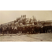 Creston,Iowa Burlington-Missouri  Railway GRAND OPENING of Depot Celebration 1899