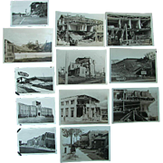 Long Beach,California Earthquake 1933 Original Raw Snapshot Photos
