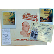 Chuck Cavallini Midlothian, Illinois Restaurant Photos including Chuck's Passport to Columbia.