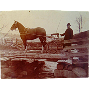 Your Country Doctor please meet Dr. Briggs 1890's photograph