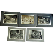 Riveting Joplin,Missouri Samson L & Z Coal Mining Photos from 1912