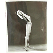 Jayne Mansfield  Raw Original Photograph