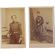 Civil War CDV Photos of Medal of Honor Winner & Admiral