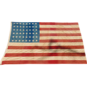 48 Star US Naval Flag USS Indianapolis World War 2