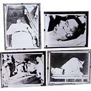 1933 John Dillinger Morgue Photographs Original Negatives