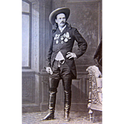 "William Frank ""Doc"" Carver  Photograph 19th Century Sharpshooter"