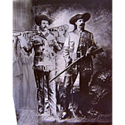 "William Frank ""Doc"" Carver and Buffalo Bill Western Show Photograph"