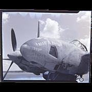 World War 2 Rosie the Riveter Bomber RARE Photograph