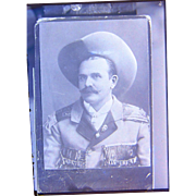 """1880's Photo of Western Performer & Sharpshooter William Frank """"Doc"""" Carver"""